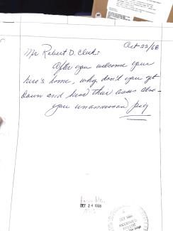 Clark letter 1